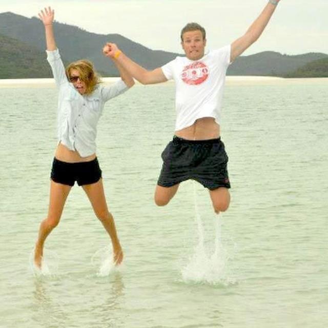 Whitehaven Beach, Whitsundays. Qld, Australia. #jumptheworld