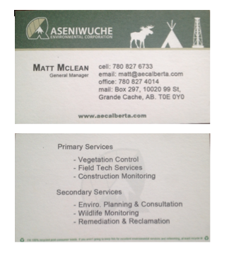 AEC Business Cards