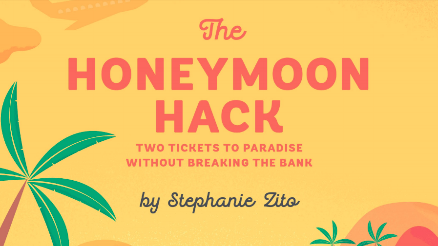 Story Featured! - Stephanie Zito also covers my story and many more in her book, The Honeymoon Hack, which I recommend checking out if you are planning a wedding and looking to optimize for points and miles.