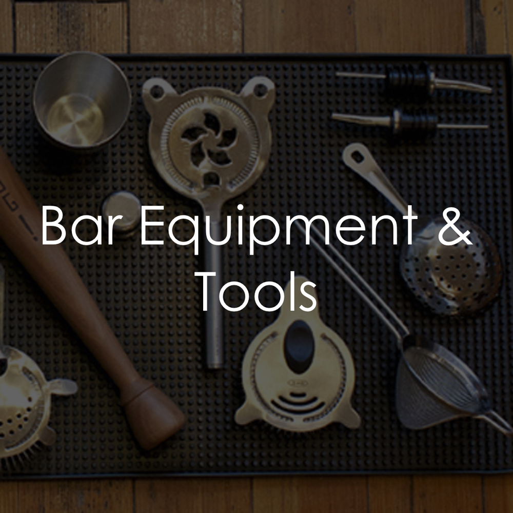 Behind the Wood Bar Equipment Tools