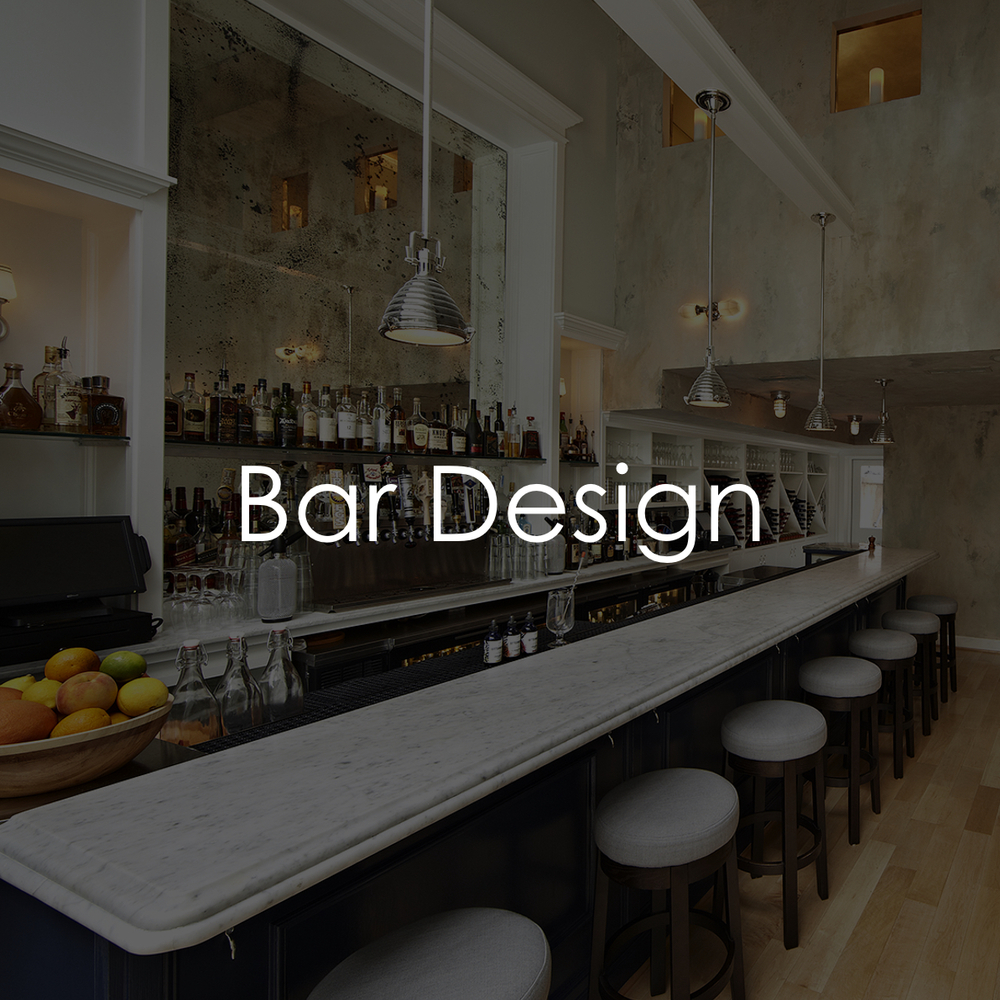 Behind the Wood Bar Design Consulting