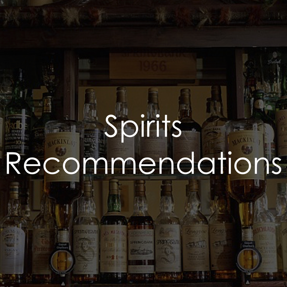 Behind the Wood Spirits Recommendation
