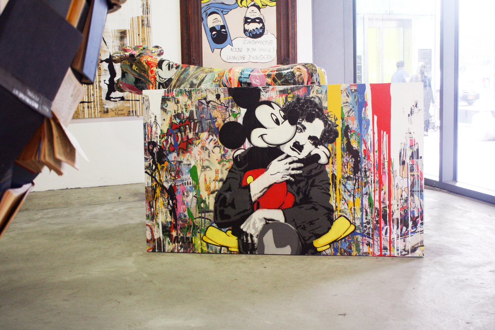 mr brainwash chaplin