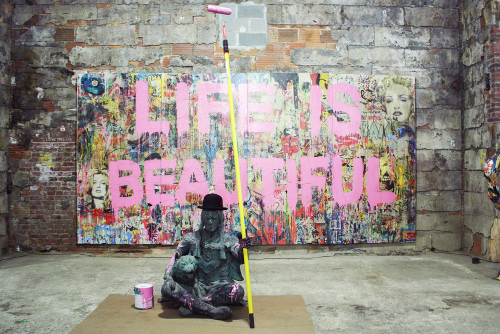 mr brainwash life is beautiful
