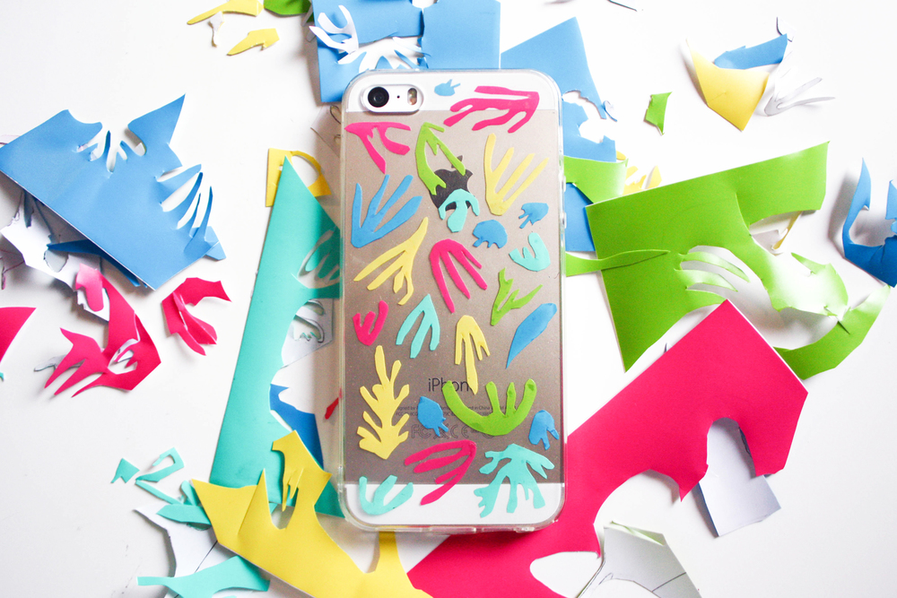 MATISSE PHONE CASE DIY
