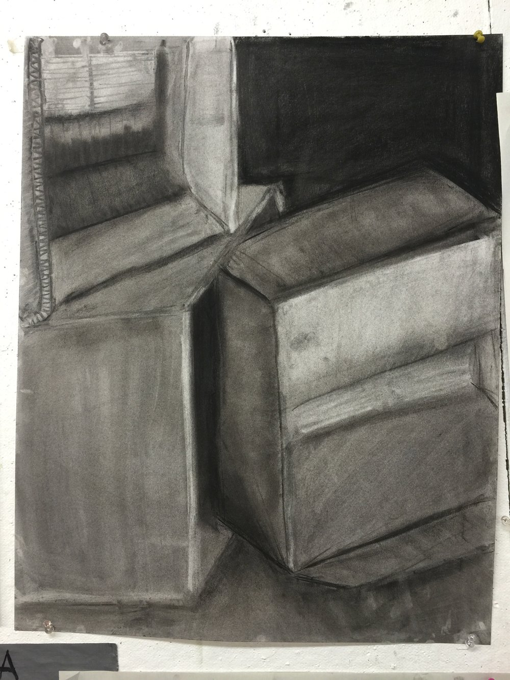 box in charcoal