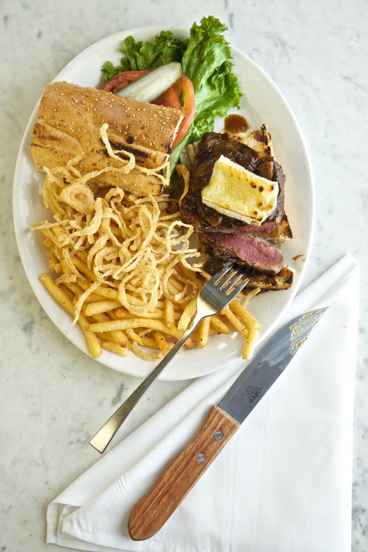 Rye Grill and Bar Steak Sandwich