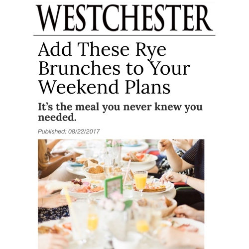 Rye Grill and Bar Brunch Westchester Magazine