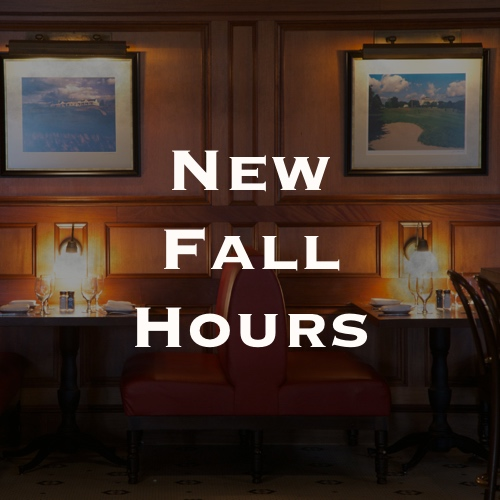 Rye Grill New Fall Hours