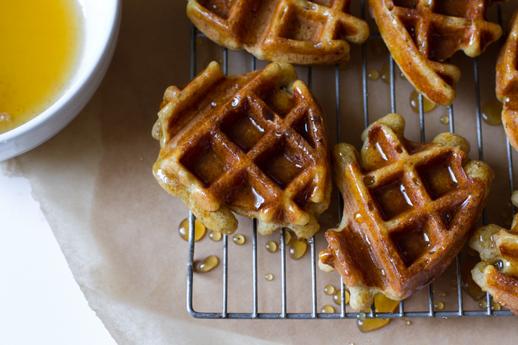 Honey Dipped Doughnut Waffles | 25 Inventive Waffle Iron Recipes To Make With Your Waffle Maker