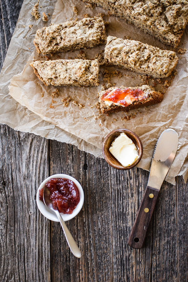 Irish Soda Bread {ish} | edibleperspective.com