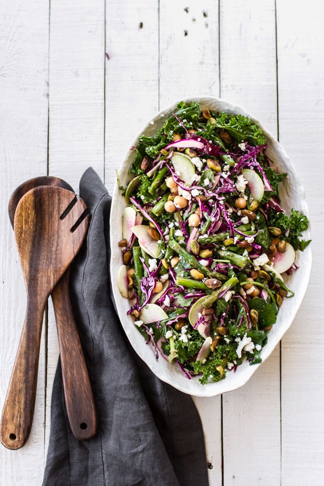 Spring Confetti Salad | edibleperspective.com