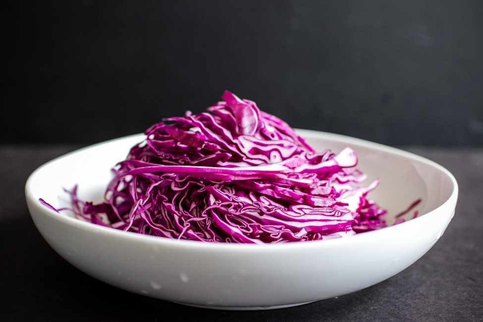 Quick Pickled Cabbage | edibleperspective.com
