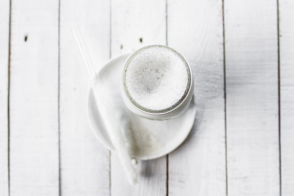 Homemade Vanilla Bean Almond Milk | edibleperspective.com