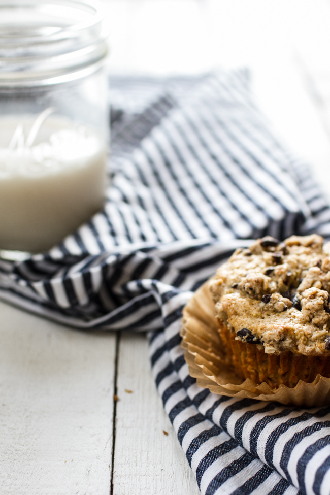Vanilla Bean Crumb Muffins | Edible Perspective