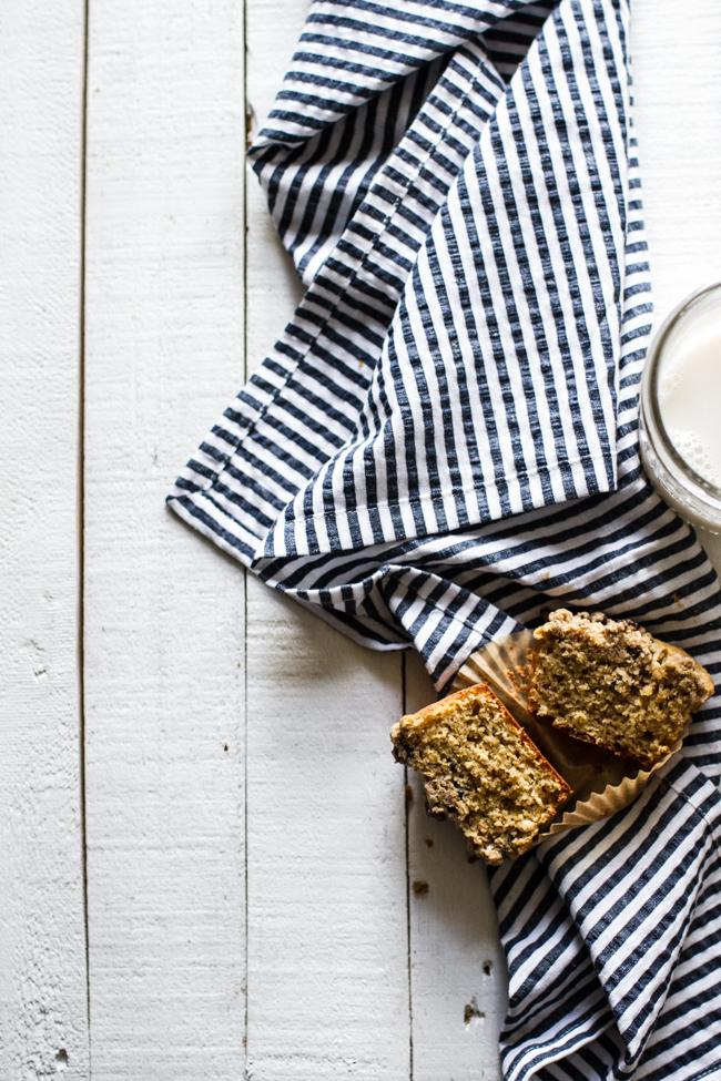 Vanilla Bean Crumb Muffins   Edible Perspective