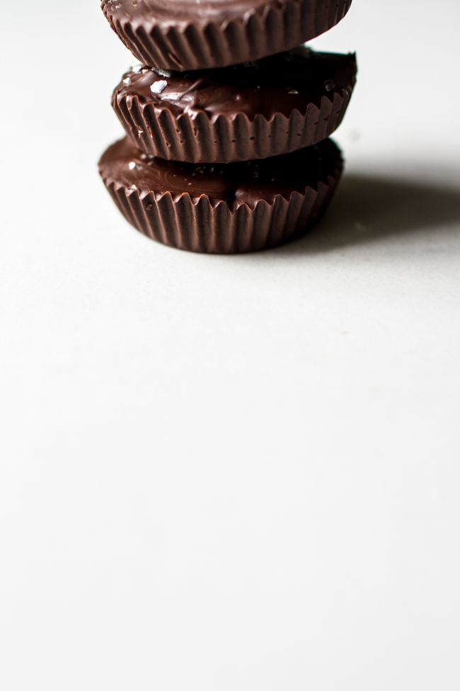 Crispy Peanut Butter Cups with Quiona + Coconut | edibleperspective.com