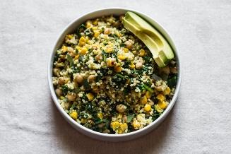Lemony Millet Salad