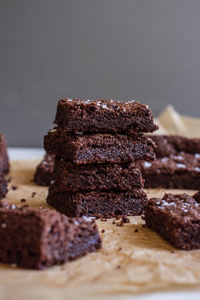the best gluten-free + Vegan brownies