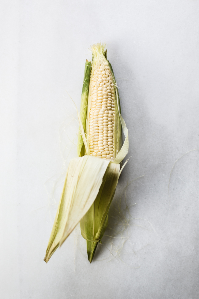 Lemon Feta and Herb Grilled Corn | Edible Perspective