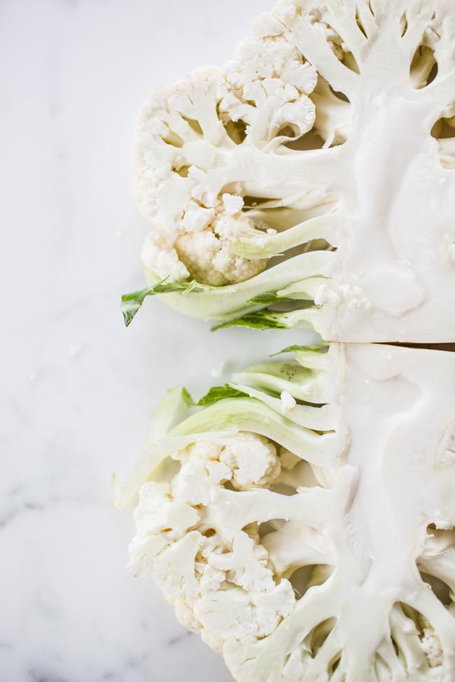 Grilled Cauliflower Caesar Salad | Edible Perspective
