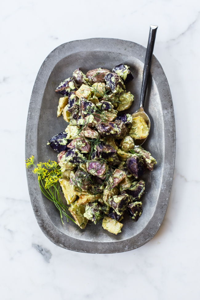 http://www.edibleperspective.com/home/2015/7/31/avocado-dill-vegan-potato-salad