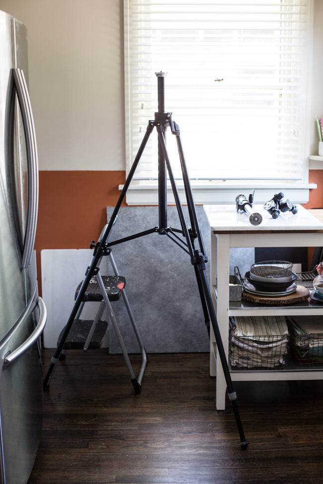 Extra-tall Tripod for Food Photography | Edible Perspective