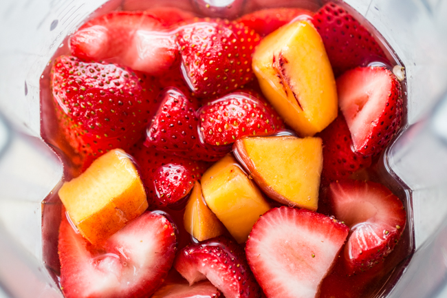Frozen Fruit for Rosé Slushies | Edible Perspective