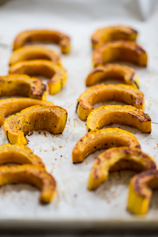 Roasted Delicata Squash | edibleperspective.com