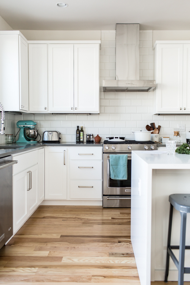 Kitchen + Living Tour with Rejuvenation | edibleperspective.com