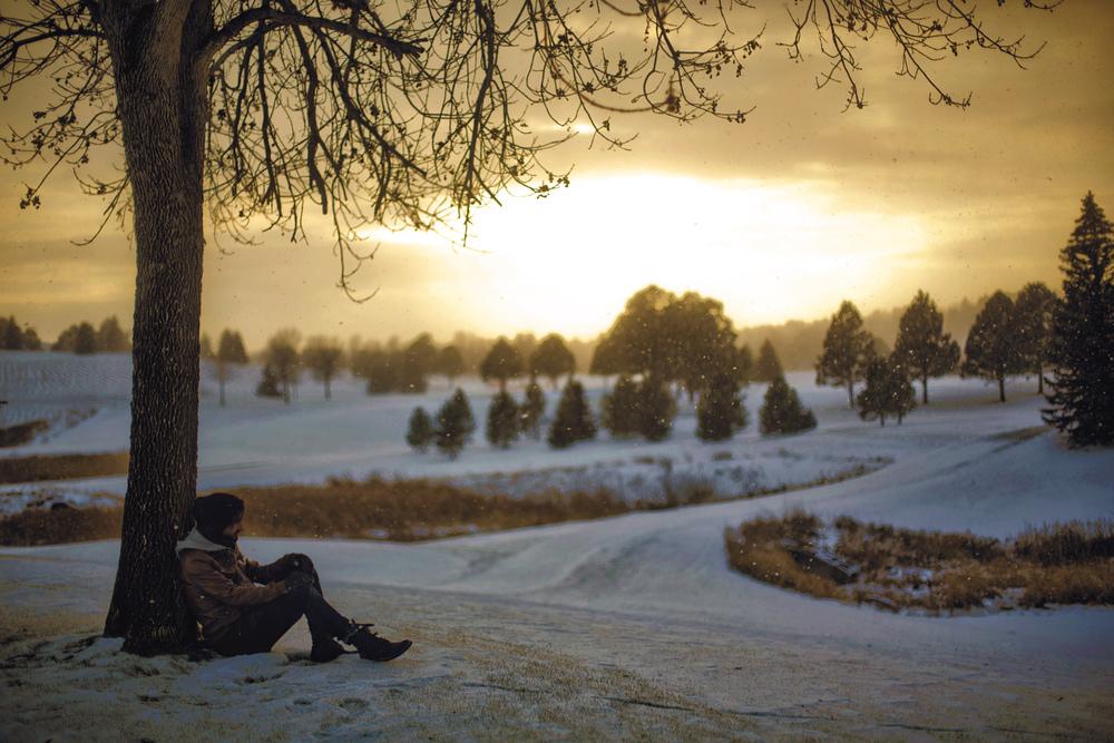 A Wintery Scene.
