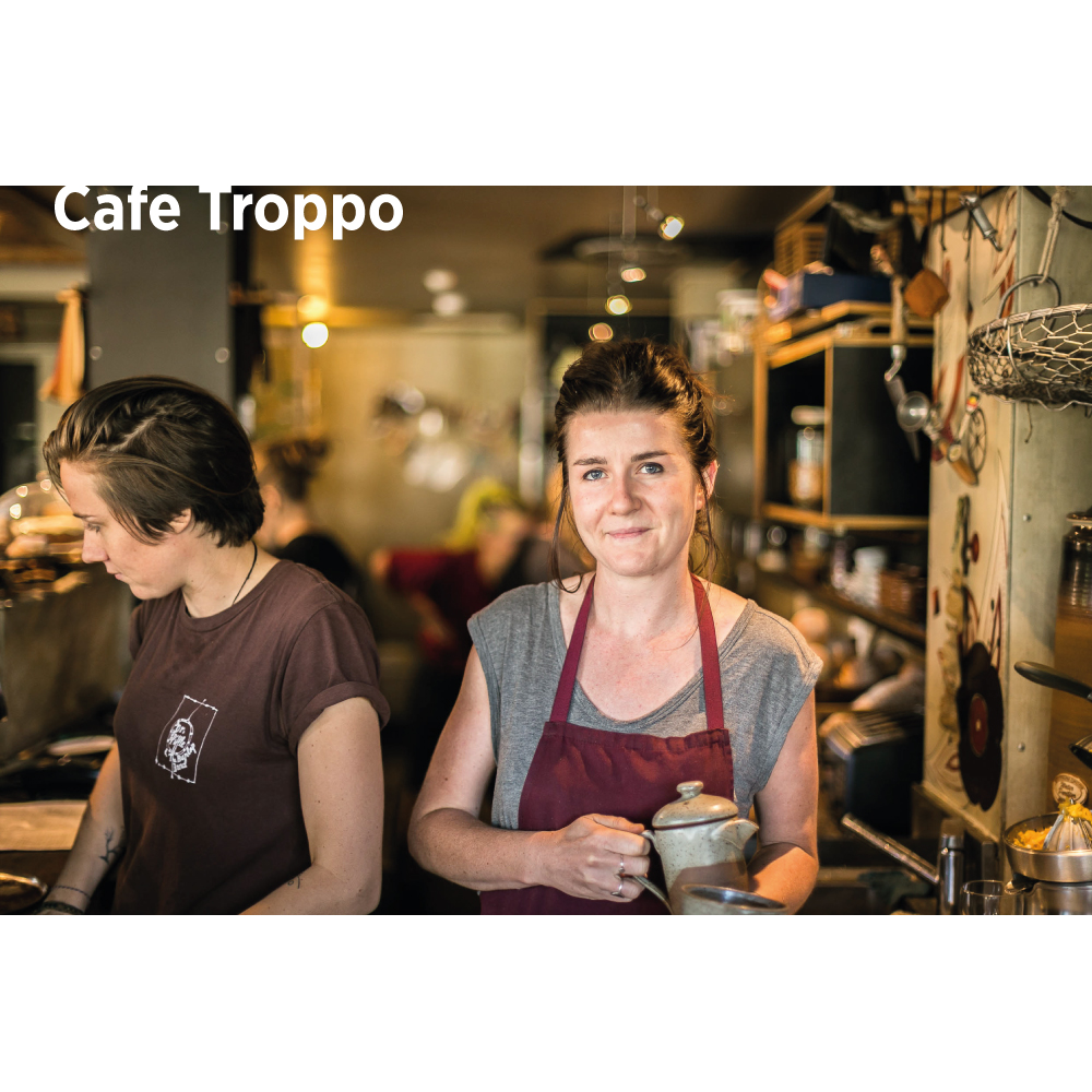 Cafe Troppo co-owner - Maddie Harris