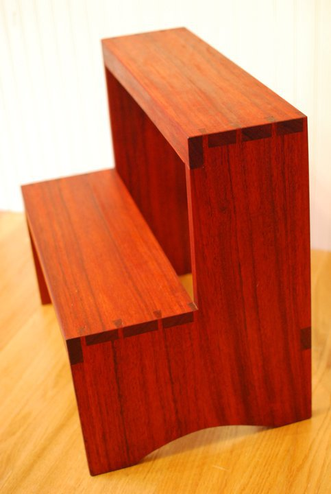 Shaker Inspired Step Stool