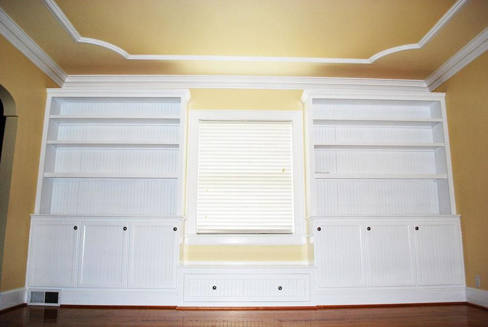 Window Seat Bookcase