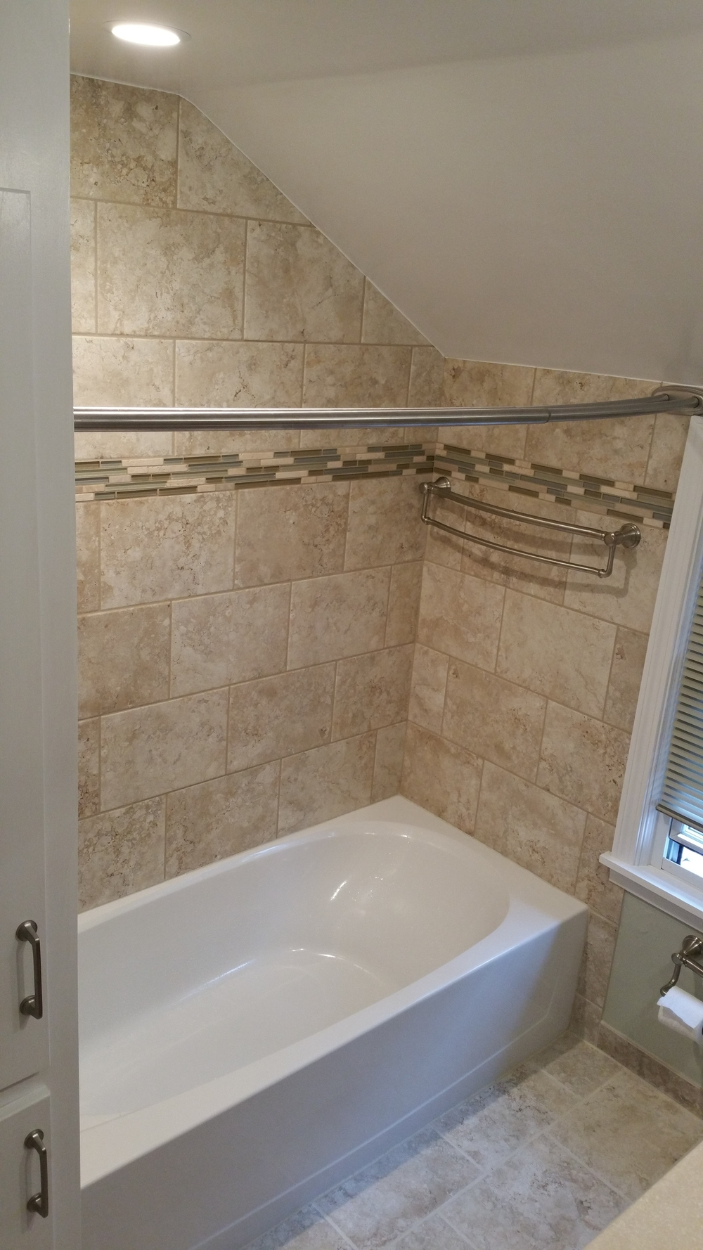Bath Remodel After