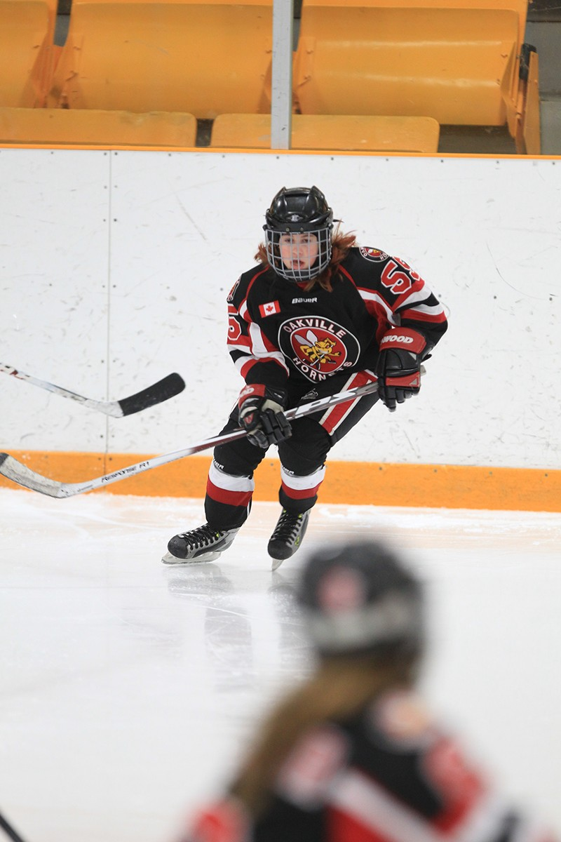 KRISTYN TELFER  Hometown: Oakville Number: 55 Team: Oakville Hornets Peewee A Position: Centre Shoots: Right Favorite Pre-Game Meal: Booster Juice, Scary Berry Favorite Hockey Player: John Tavares  Northern Freeze Cups: 2