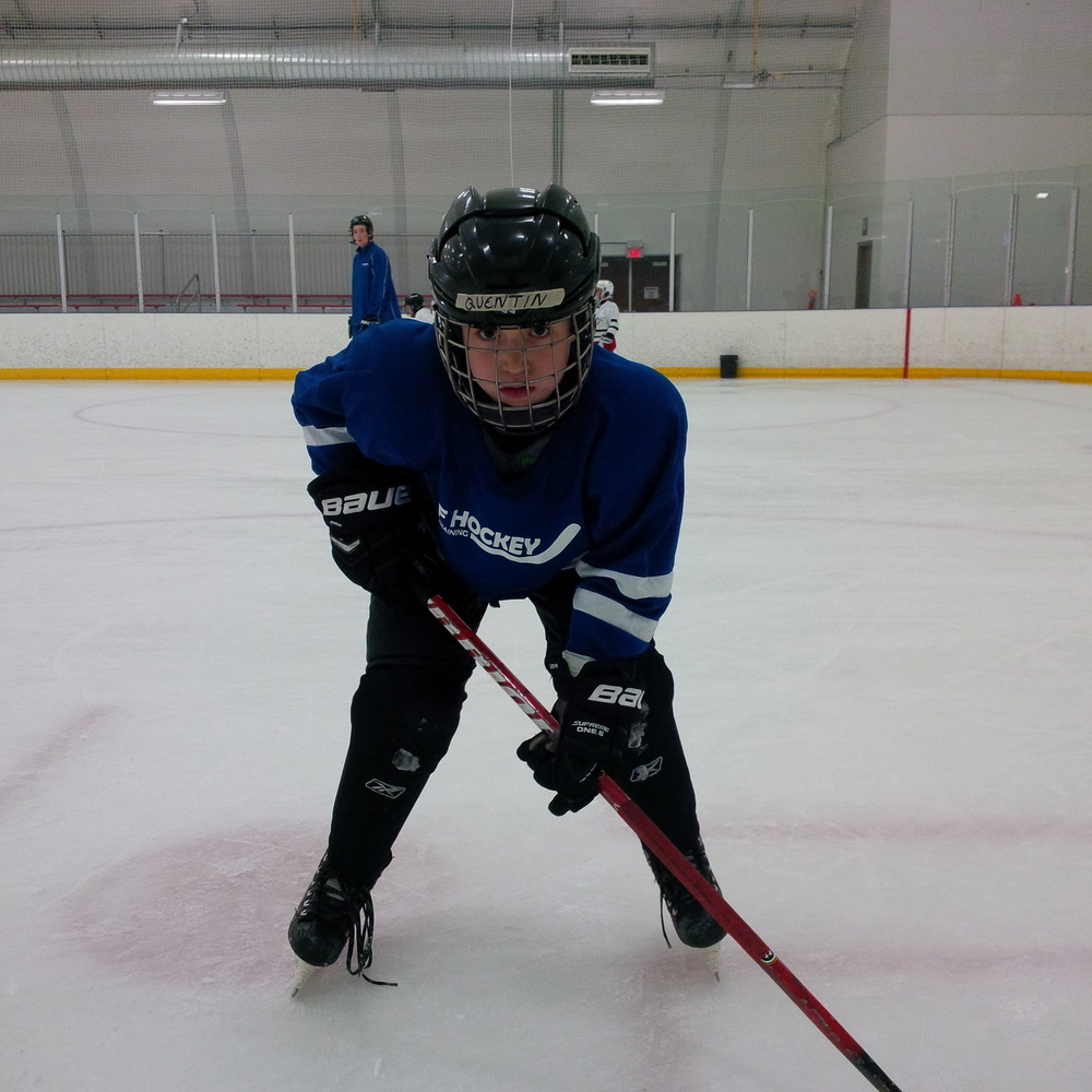 QUENTIN ROUSE Hometown: Wasaga Beach, ON Number: 6 Team: North Central Predators Minor Atom AAA Position: Defence Shoots: Left Favorite Pre-Game Meal: Pasta Favorite Hockey Player: George Allen - 1940's played Montreal Canadiens/ Chicago Blackhawks (#6 Great Grandfather)