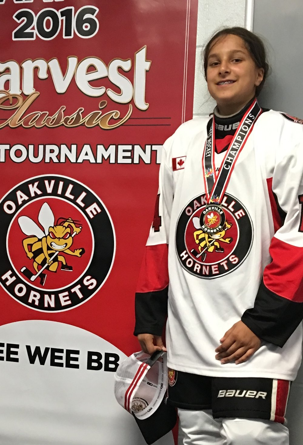 Priya Chaudhari  Hometown: Oakville, ON Number: 14 Team: Oakville Hornets PEEWEE BB Position: Defense/Forward  Shoots: Left Favorite Pre-Game Meal: Hard Boiled Eggs Favorite Player: Bobbie Orr  Northern Freeze Cups:  2