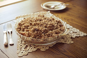 HEALTHY aPPLE-WALNUT CRISP