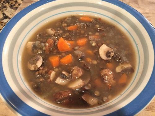 10 minute Lentil Soup