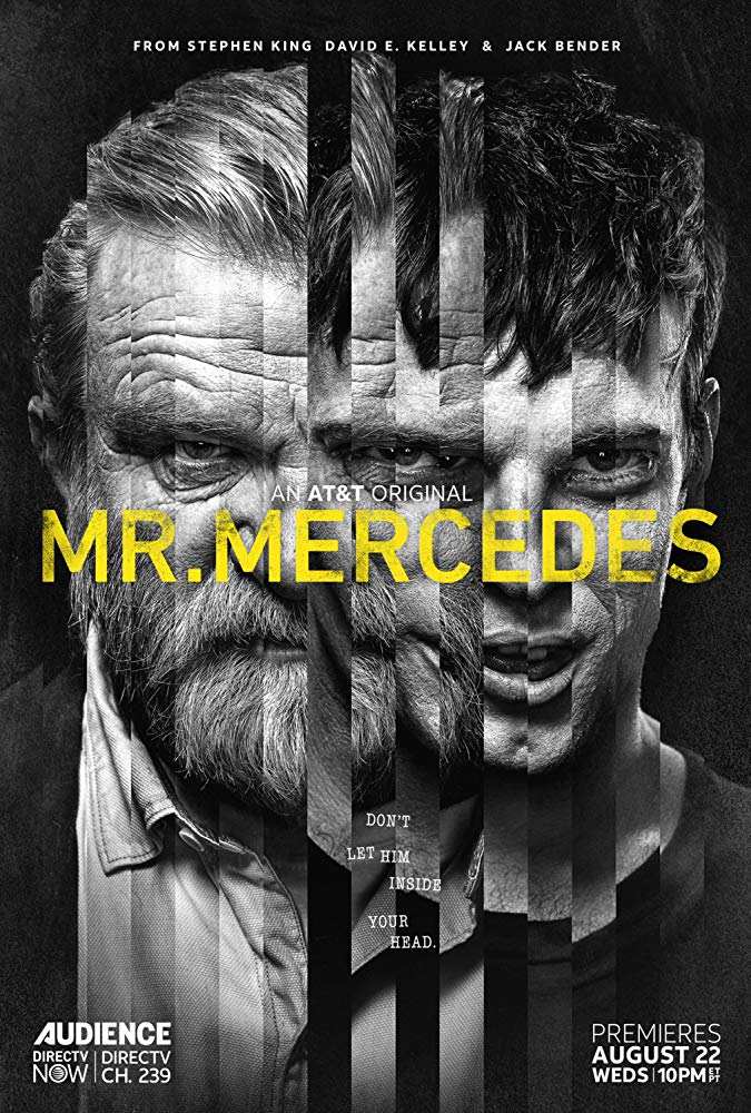 Mr. Mercedes - Headstrong Hospital Admin opposite Brendan Gleeson, Max Hernandez, & Jack Huston.