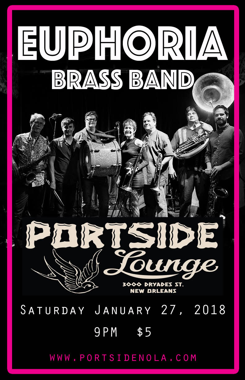 EBB at Portside Lounge, New Orleans, Louisiana! Food truck: Miso Hungry.
