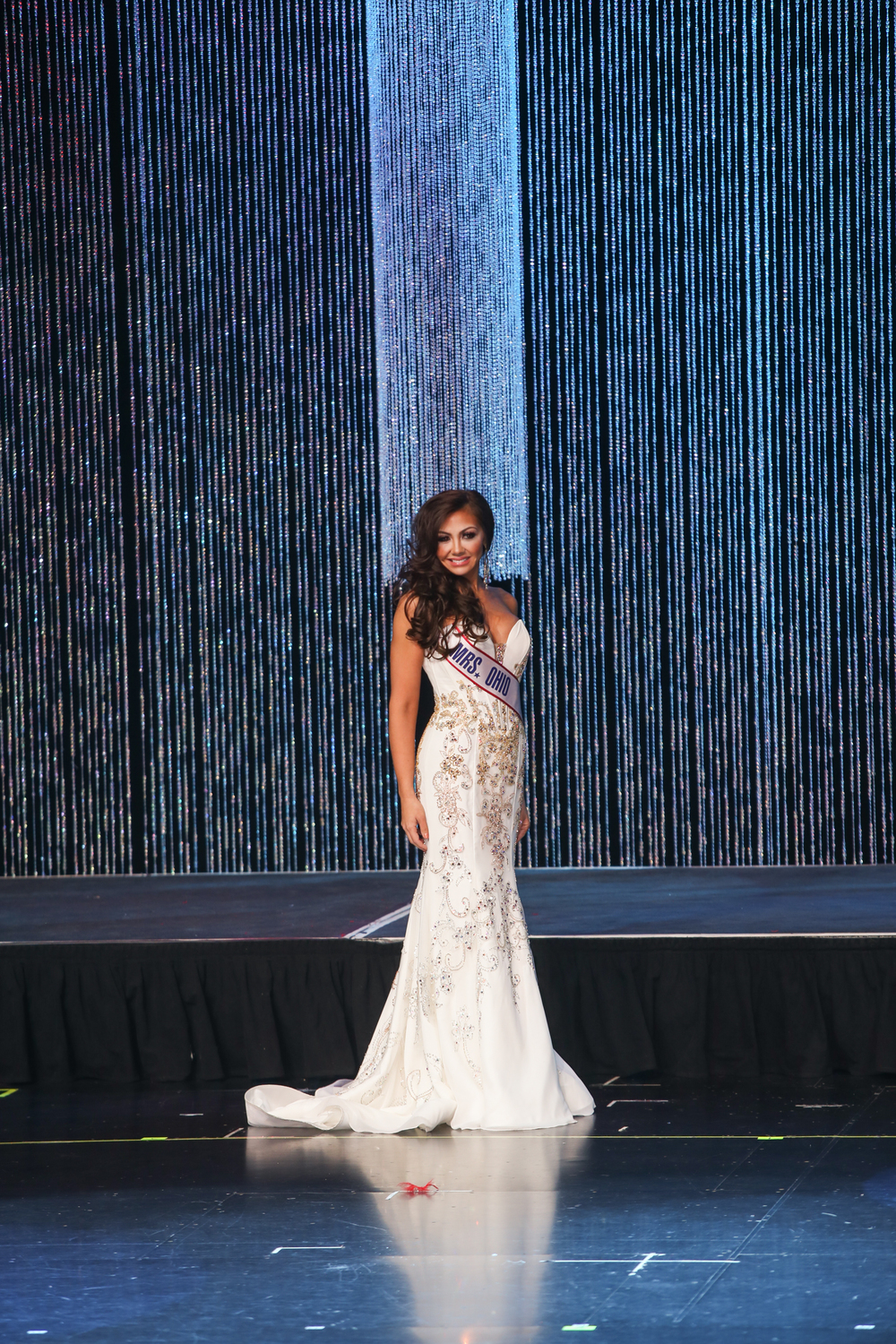 The Top 15 Evening Gown Competition at Mrs. America