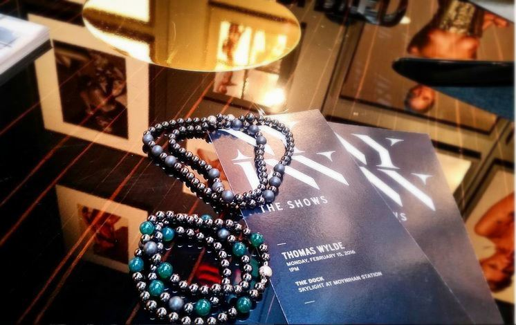 """Envy"" & ""Gothic"" Wrap Bracelets NYFW for Thomas Wylde"