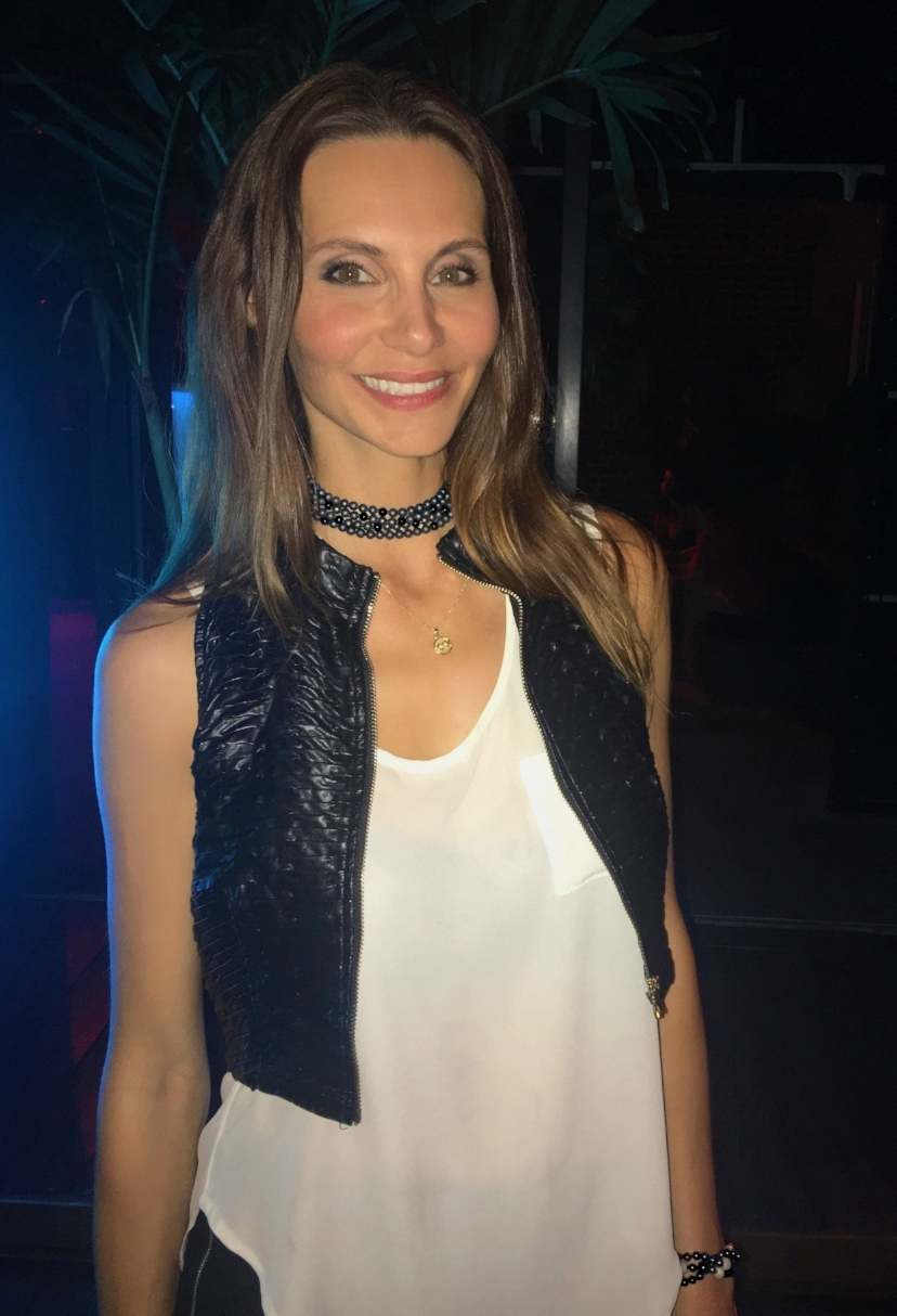 olga parkers jewelry nyfw Dust Choker Heidi Merrill prive hype app fashion events jewelry collection couture fine jewelry heidi merrill duste matte hematite bead choker necklace