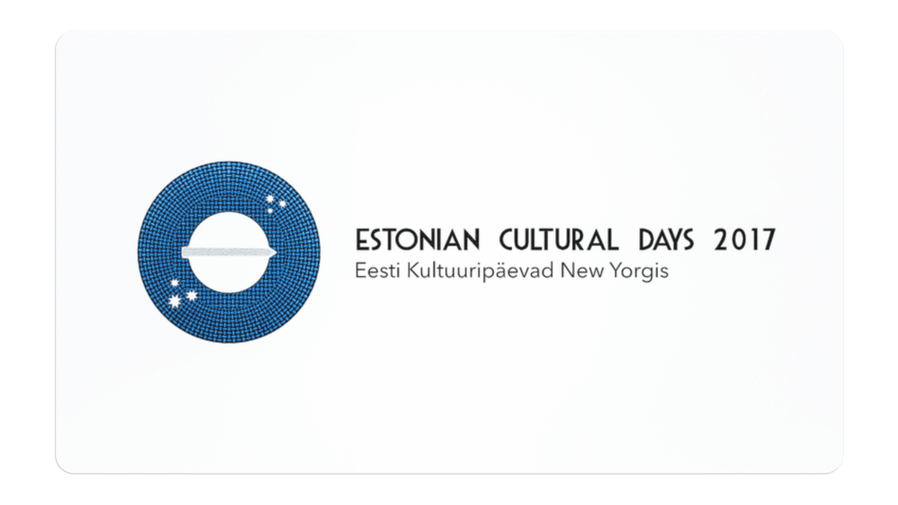 Estonian Cultural Days Festival Promotion Designs