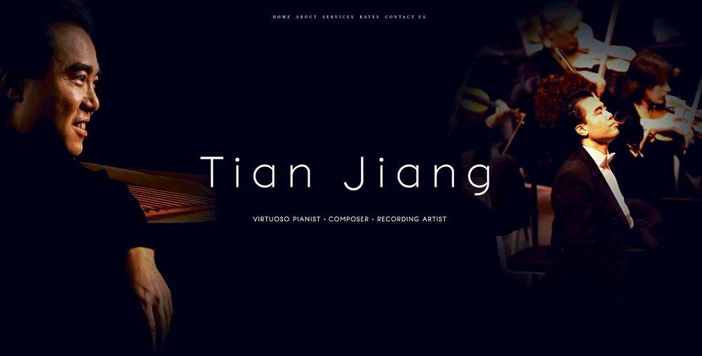 Tian Jiang Artist Branding