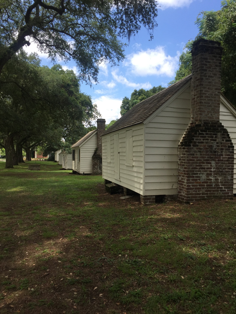 Much of the information shared is focused on the people who lived in these slave cabins instead of those that lived in the plantation house.