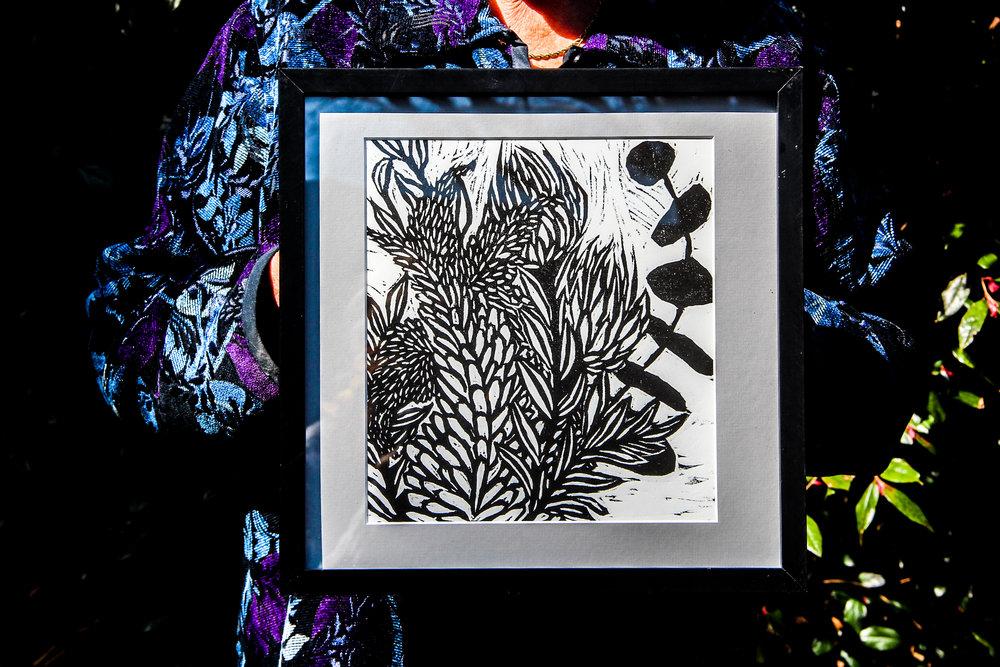 Flower Prints. -