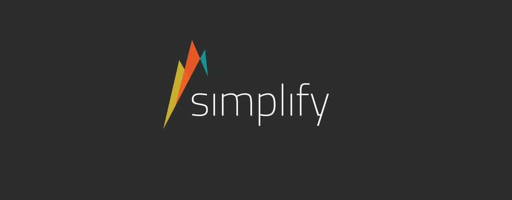 I created this logo for a campaign entitled  Simplify